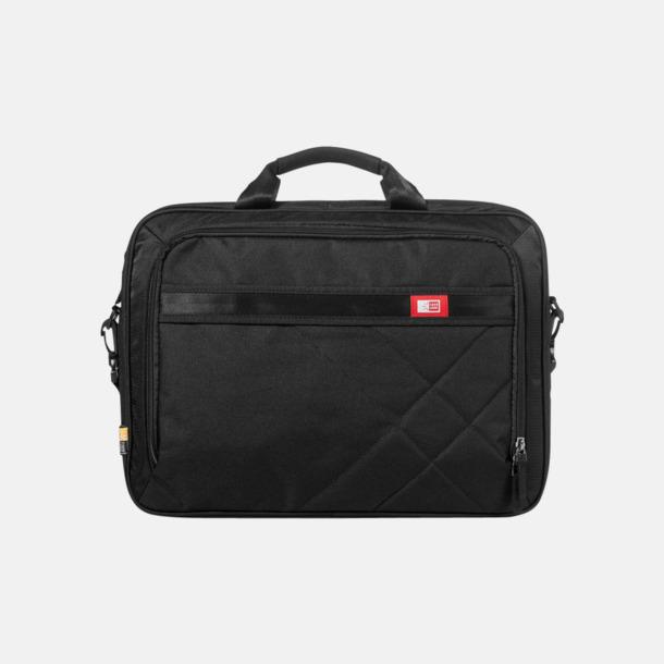 Svart Fina väskor för laptops & surfplattor - med reklamtryck