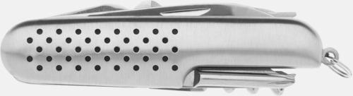 Silver Fickknivar med 12 funktioner med reklamlogga