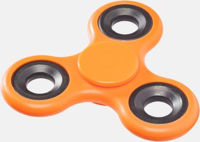 Orange Fidget Spinner med reklamtryck