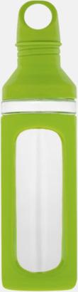 Glasflaskor med silikonskydd - med reklamtryck