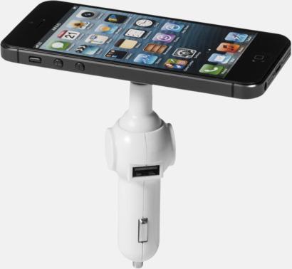 Hållare & laddare för mobilen i bilen - med reklamtryck