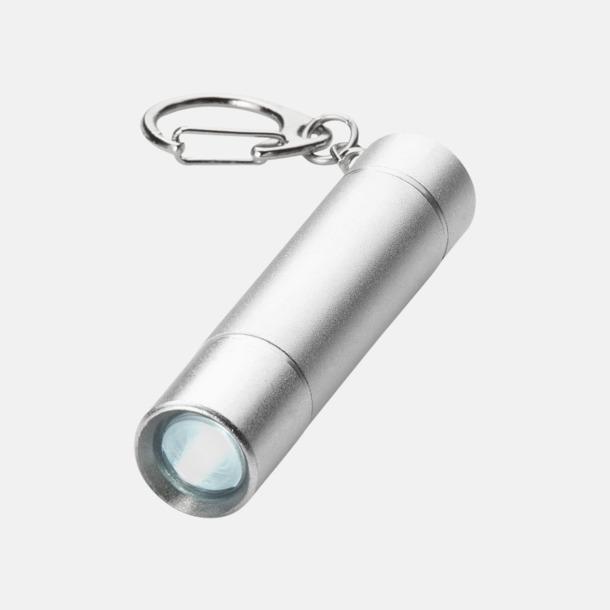 LED-lampa med nyckelring med reklamtryck