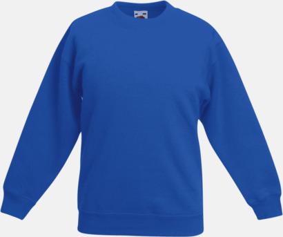 Royal Klassiska sweatshirt tröjor för barn - med reklamtryck