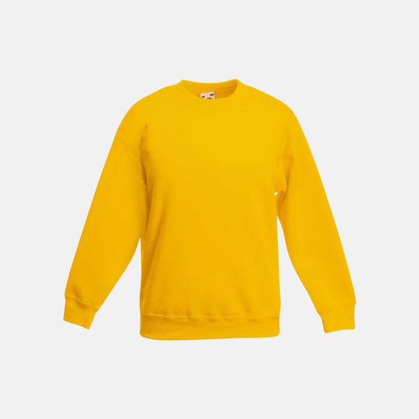 Sunflower Klassiska sweatshirt tröjor för barn - med reklamtryck