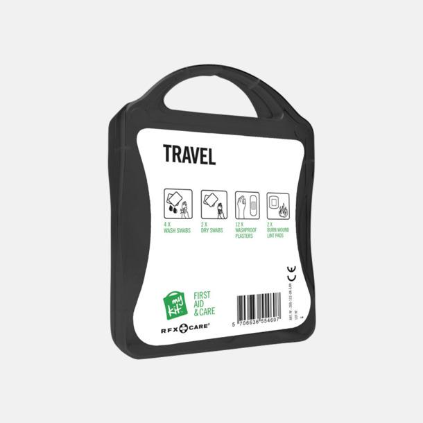 Första hjälpen-kit för resan - med reklamtryck