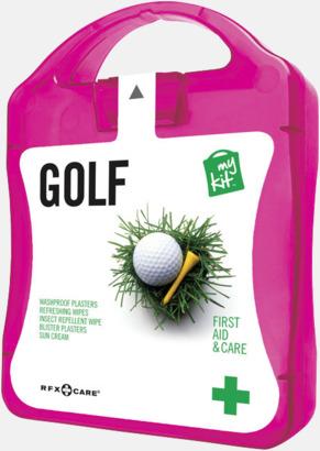 Magenta Plåster, solkräm & annat för golfaren - med reklamtryck