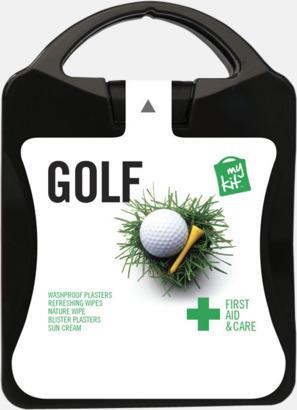 Plåster, solkräm & annat för golfaren - med reklamtryck
