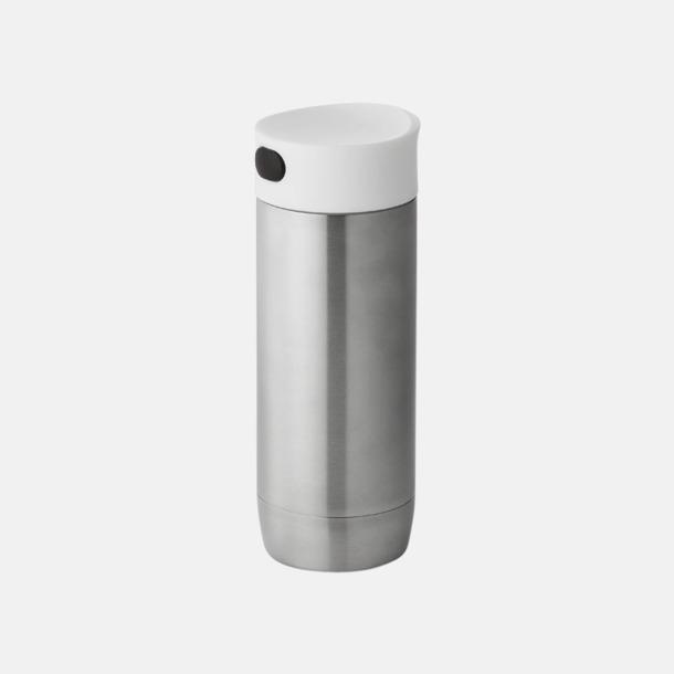 Silver Läckagefria termosmuggar med reklamtryck
