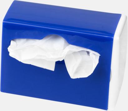 Behållare med soppåsar - med reklamtryck