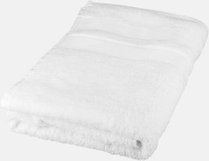 Vit Seasons Eastport handdukar i 2 storlekar med reklambrodyr