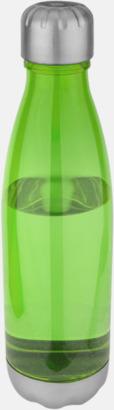 Neongrön Stilrena sportflaskor med reklamtryck