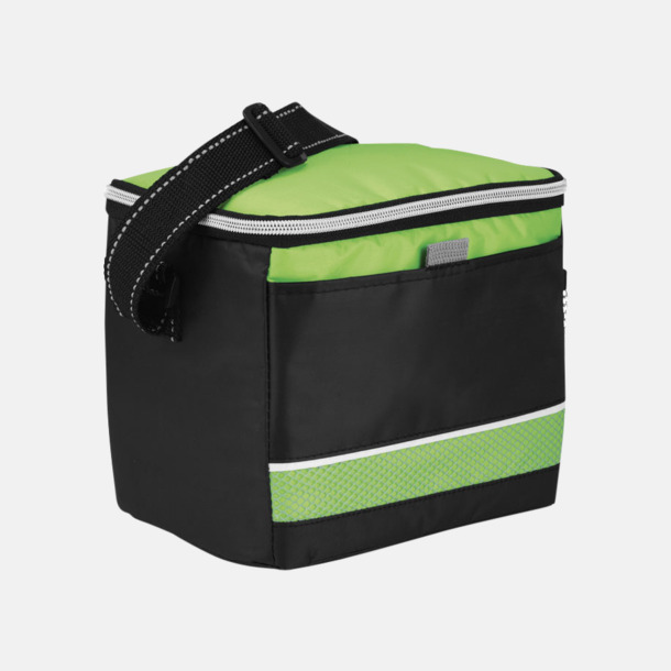 Svart / Grön Kylväskor i sportig design med reklamtryck