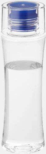 Blå Smäckra vattenflaskor med reklamtryck