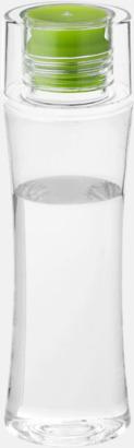 Grön Smäckra vattenflaskor med reklamtryck