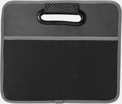 Organiseringslåda för bagageutrymmet med reklamtryck