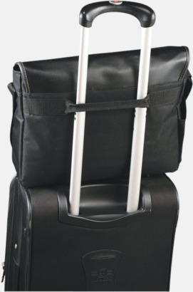 Trolleyband Laptopväskor med RFID-blockeringsteknik - med reklamtryck