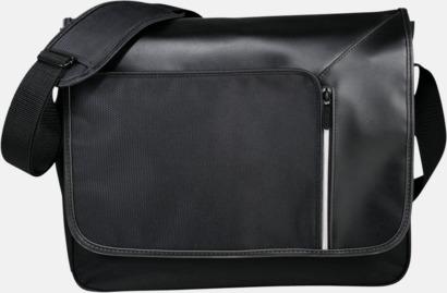 Svart Laptopväskor med RFID-blockeringsteknik - med reklamtryck