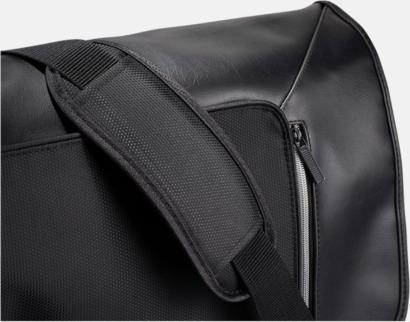 Axelband med vaddering Laptopväskor med RFID-blockeringsteknik - med reklamtryck