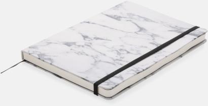 A5 marmormönstrade anteckningsböcker med reklamtryck