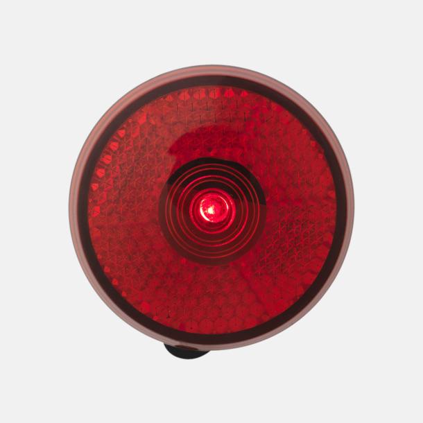 Reflex med blinkande rött ljus - med reklamtryck