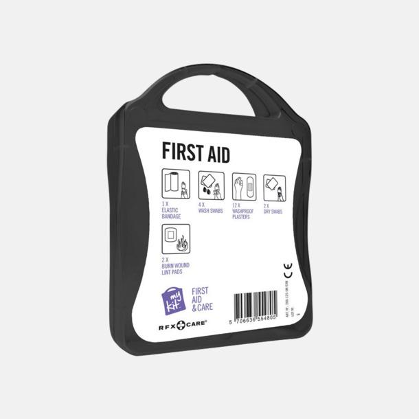 Första hjälpen-kit med reklamtryck