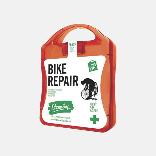 Röd För skador på dig eller cykeln - med reklamtryck