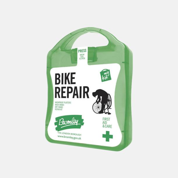 Grön För skador på dig eller cykeln - med reklamtryck