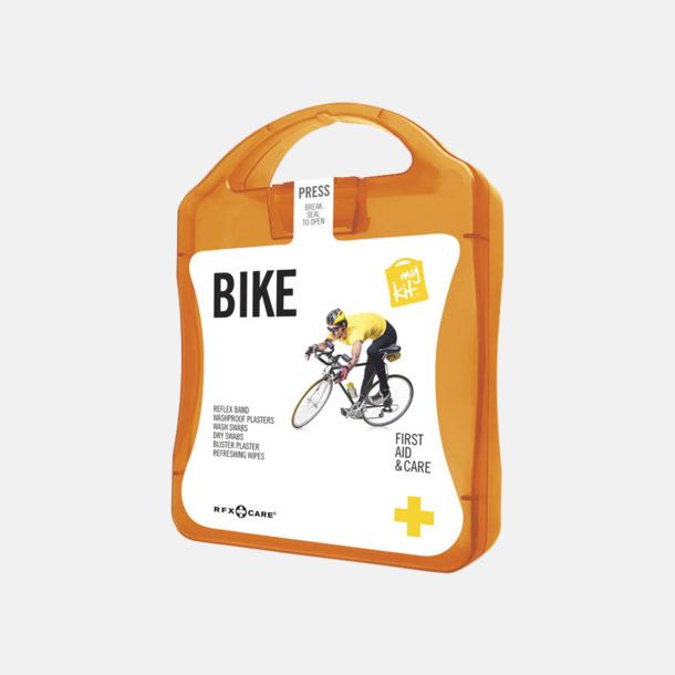 Orange Första hjälpen-plåster för cyklisten - med reklamtryck