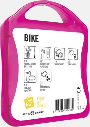 Baksida Första hjälpen-plåster för cyklisten - med reklamtryck