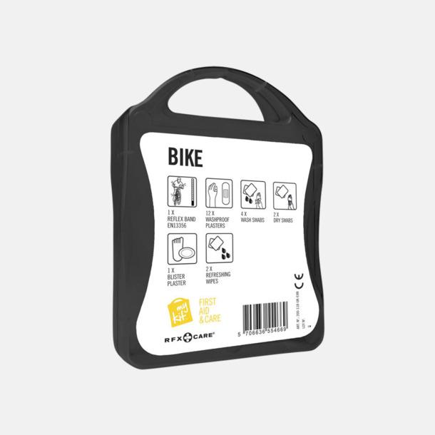 Första hjälpen-plåster för cyklisten - med reklamtryck