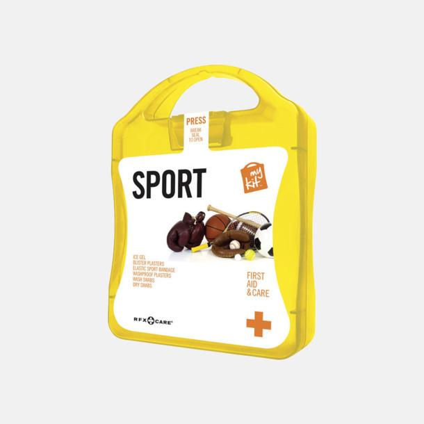 Gul Första hjälpen-sportutgåva med reklamtryck