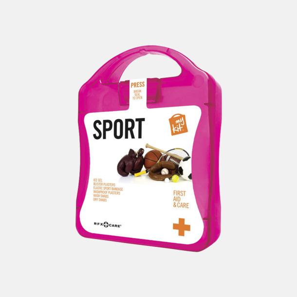 Magenta Första hjälpen-sportutgåva med reklamtryck