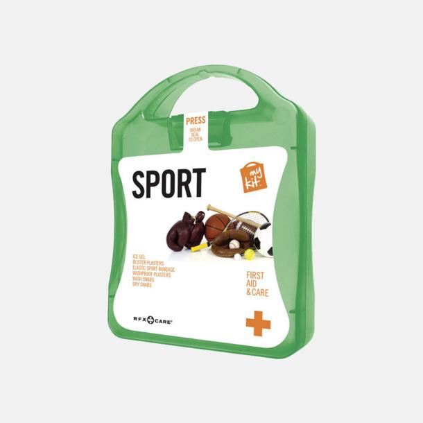 Grön Första hjälpen-sportutgåva med reklamtryck