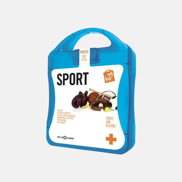 Blå Första hjälpen-sportutgåva med reklamtryck