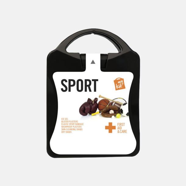 Första hjälpen-sportutgåva med reklamtryck