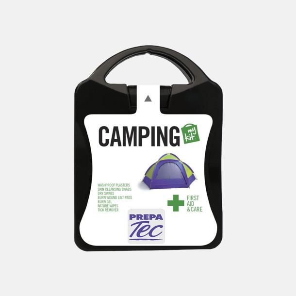 Första hjälpen-kit för camparen - med reklamtryck