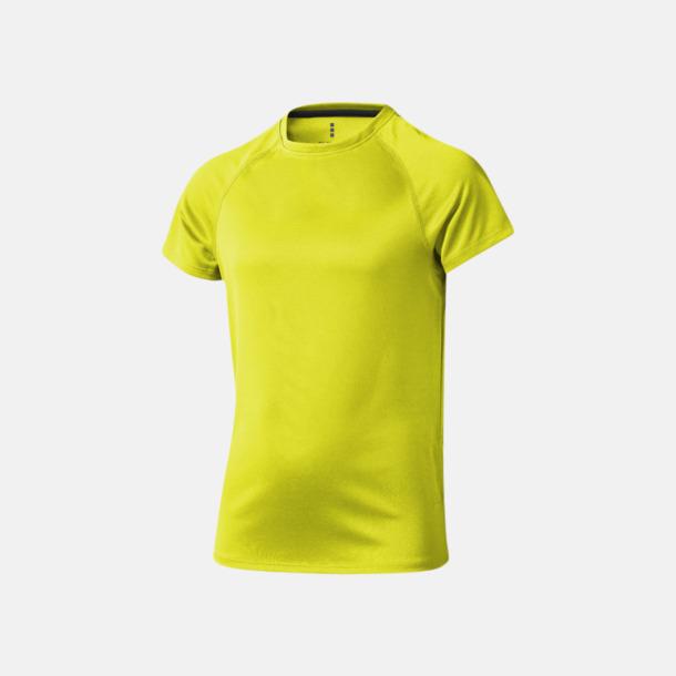 Neongul (barn) Träningströjor för herr, dam & barn - med reklamtryck