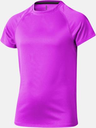 Neonrosa (barn) Träningströjor för herr, dam & barn - med reklamtryck