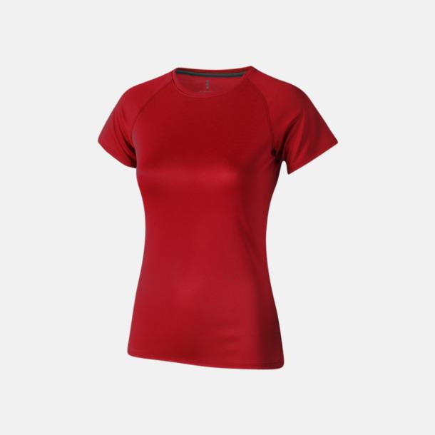 Röd (dam) Träningströjor för herr, dam & barn - med reklamtryck