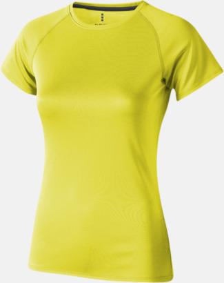 Neongul (dam) Träningströjor för herr, dam & barn - med reklamtryck