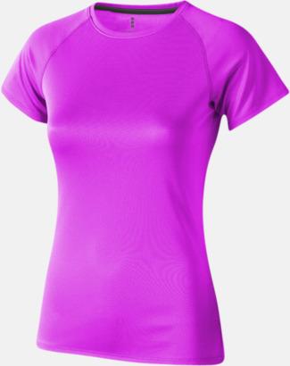 Neonrosa (dam) Träningströjor för herr, dam & barn - med reklamtryck