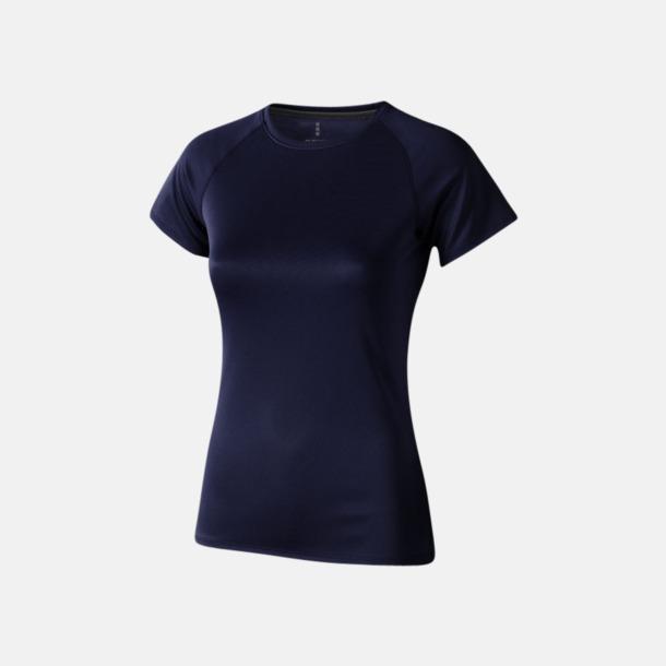 Marinblå (dam) Träningströjor för herr, dam & barn - med reklamtryck