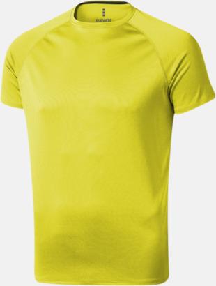 Neongul (herr) Träningströjor för herr, dam & barn - med reklamtryck