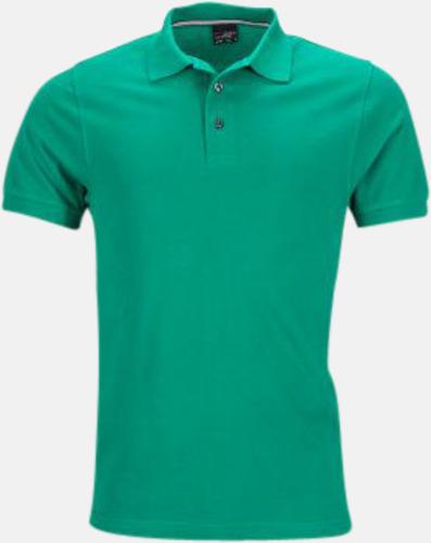 Irish Green (herr) Premiumpikéer med reklamtryck