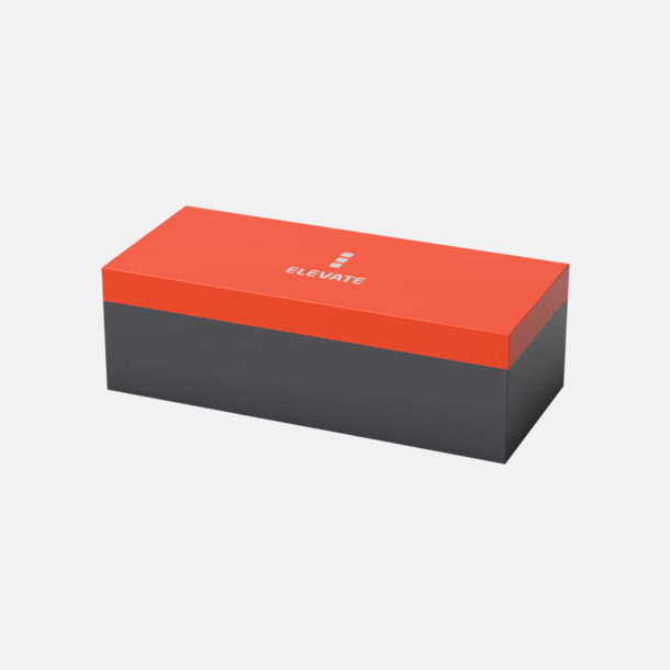 Box Ficklampa med dubbel karbinhake med reklamtryck