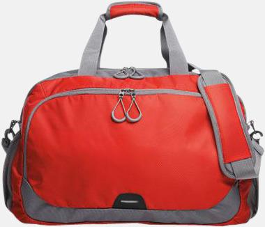 Medelstor sport- & resväska med reklamtryck