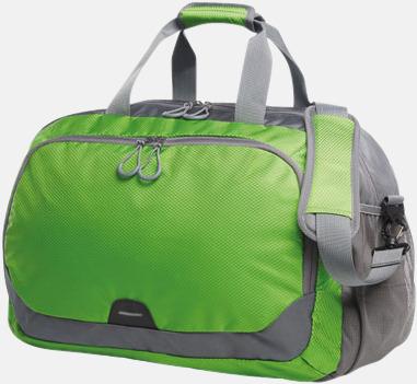 Apple Green Medelstor sport- & resväska med reklamtryck