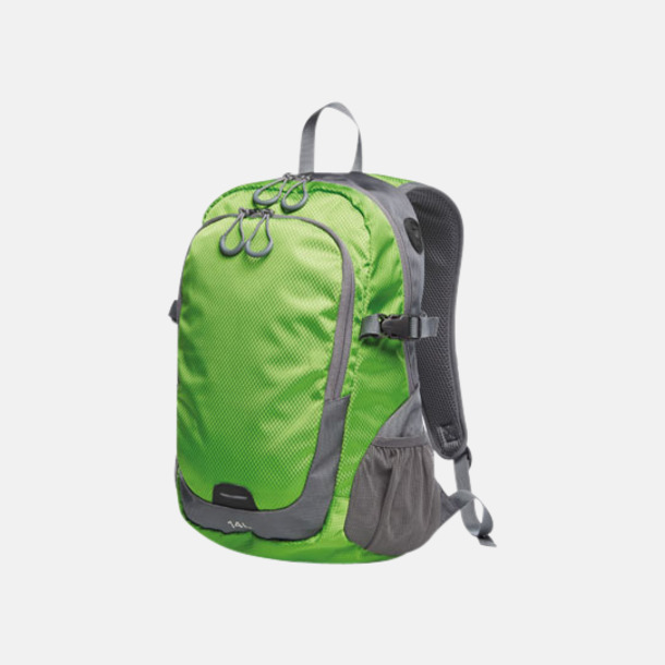 Apple Green (M) Sportiga ryggsäckar från Halfar med reklamtryck