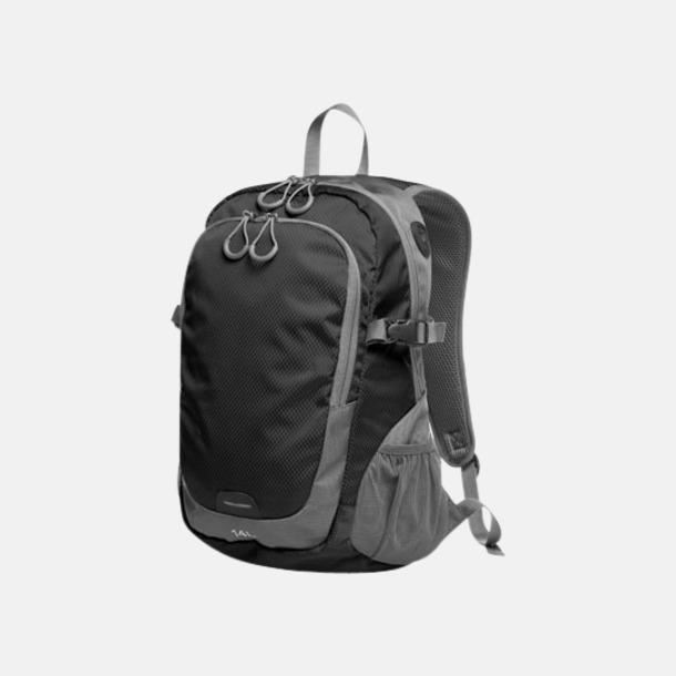 Svart (M) Sportiga ryggsäckar från Halfar med reklamtryck