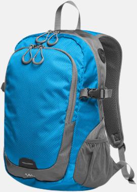 Cyan (M) Sportiga ryggsäckar från Halfar med reklamtryck